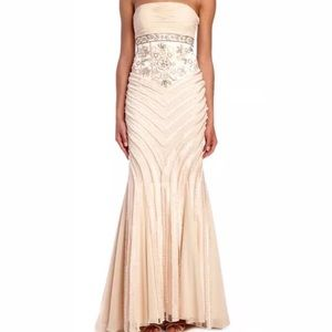 NWT Sue Wong Strapless Empire Gown Dress size 2